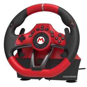 Nintendo Switch Mario Kart Racing Wheel Pro Deluxe for $70