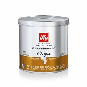 illy Coffee, iperEspresso Capsule,Arabica Selections Ethiopia Single Origin Espresso Pods, 100% for $32
