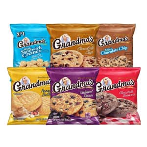 Grandma's Cookies 30-Count Variety Pack for $10 w/ Prime