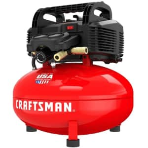 Craftsman 6-Gallon Pancake Air Compressor for $100 for Ace Rewards members