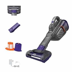Black + Decker BLACK+DECKER dustbuster Handheld Vacuum for Pets, Cordless, AdvancedClean+, Gray (HHVK515JP07) for $99