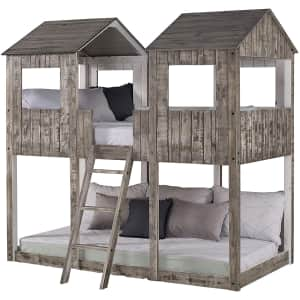 Donco Kids Tower Twin Bunk Bed for $506