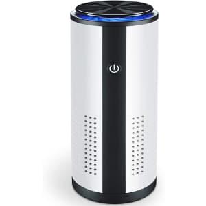 Jeemoo Portable Car Air Purifier for $18
