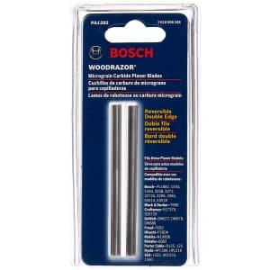 Bosch Woodrazor Tungsten Carbide Planer Blades 2-Pack for $11