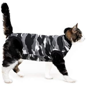 Suitical Small Recovery Suit for Cats for $23