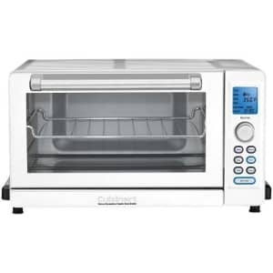 Cuisinart TOB-135W Deluxe Convection Toaster Oven Broiler, White for $449