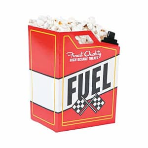Fun Express Race Car Fuel Can Popcorn Treat Boxes - Racing Birthday Party Supplies - 24 Pieces for $15