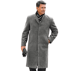 Irvine Park Classic Wool-Blend Topcoat for $30
