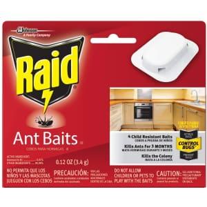 Raid Ant Killer Baits 4-Pack for $2.83 via Sub. & Save