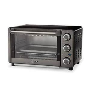 Dash Express Countertop Toaster Oven with Quartz Technology, Bake, Broil, and Toast with 4 Slice for $73