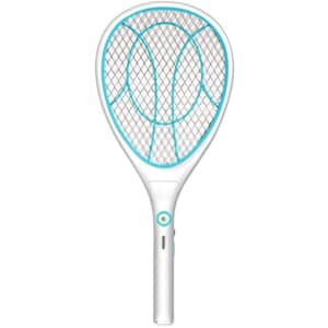 Night Cat Electric Bug Zapper Racket for $17