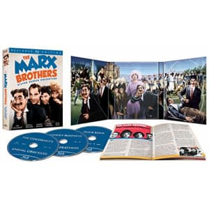 Universal Studios The Marx Brothers Silver Screen Collection (The Cocoanuts / Animal Crackers / Monkey Business / for $33