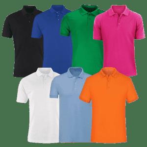 Nextex Men's Polo Shirt 4-Pack for $29