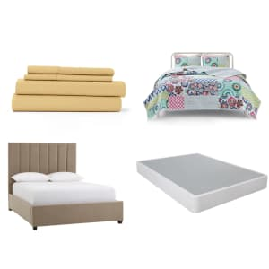 Mattresses, Bedding, and Bedroom Furniture at Home Depot: Up to 45% off
