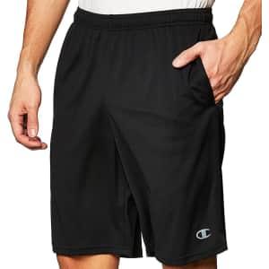 "Champion Men's 10"" Core Training Shorts for $12"