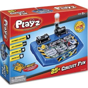 Playz Electrical Circuit Board Engineering Kit for $30