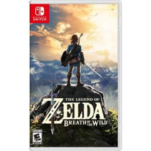 The Legend of Zelda: Breath of the Wild for Nintendo Switch for $40