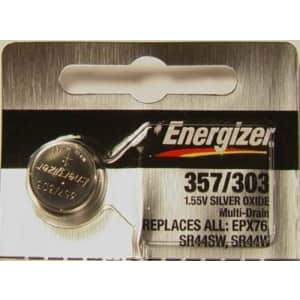 Energizer Silver Oxide Blister Pack Watch/Electronic Batteries (Pack of 36) for $37