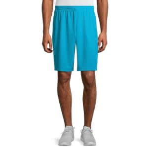 """Athletic Works Men's 9"""" Dazzle Shorts for $4"""