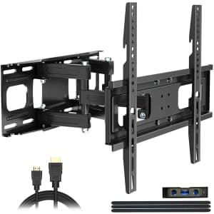 Juststone Full Motion TV Wall Mount for $20