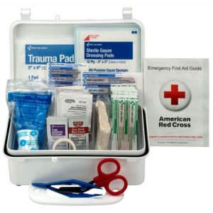First Aid Only 57-Piece First Aid Kit for $12
