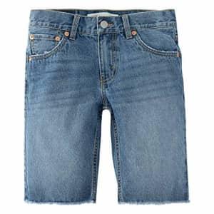 Levi's Boys' 511 Slim Fit Denim Shorts, Pyramids, 4T for $25