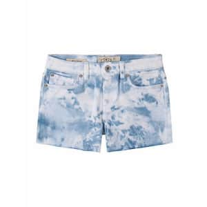 Lucky Brand Girls' Fashion Denim Shorts, Delaney Tie Dye Silver Lake, 8 for $28