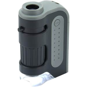 Carson MicroBrite Plus Pocket Microscope for $12