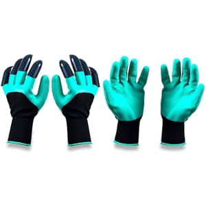 Syhj Gardening Gloves 2-Pack w/ Claws for $5