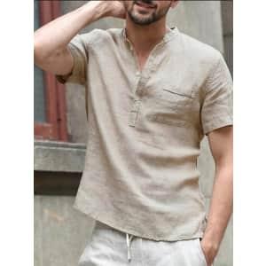 Men's V-Neck Shirt: 3 for $20