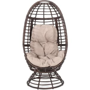 Christopher Knight Home Frances Outdoor Wicker Swivel Egg Chair for $398
