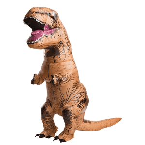 Rubie's Jurassic World Adult Inflatable T-Rex Costume for $50