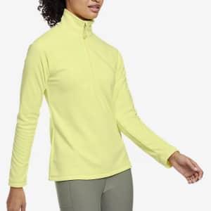 Eddie Bauer Women's Quest Fleece 1/4-Zip Pullover for $20