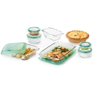 OXO Good Grips Bake, Serve, and Store 14-Piece Glass Bakeware Set for $66...or less