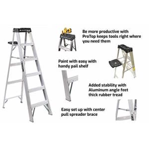 Louisville Ladder AS3003 Aluminum 3-Foot Ladder 300-Pound Duty Rating for $129