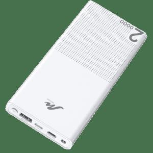 Redisona 20,000mAh Portable Power Bank for $12