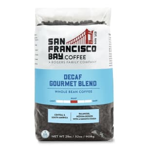 SF Bay Coffee Decaf Gourmet 32-oz. Coffee Bag for $13 via Sub & Save