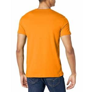A|X Armani Exchange Men's Short Sleeve Pima Cotton Jersey V-Neck T-Shirt, Oriole, XL for $21