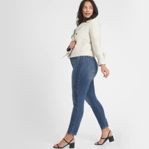 Banana Republic Factory Women's High-Rise Curvy Skinny Jeans: 2 for $25 in cart