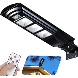 Fuhongrui LED Solar Street Light with Remote Control for $66