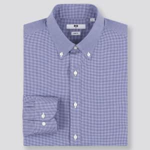 Uniqlo Men's Easy Care Dress Shirts: from $6