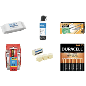 Quill 10-Cent Deals: Batteries, pens, more for 10 cents w/ $99