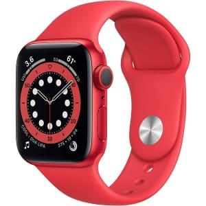 Apple Watch Series 6 40mm GPS Sport Smartwatch for $320