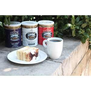 French Market Coffee, Coffee and Chicory, Decaffeinated Medium-Dark Roast Ground Coffee, 12 Ounce for $9