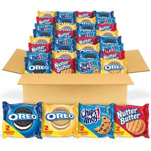 Nabisco Cookies 56-Count Variety Pack for $10 via Sub & Save