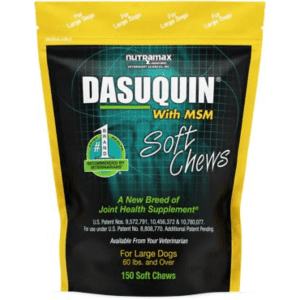 Nutramax Dasuquin with MSM Soft Chews 150-Count Bag for $57 w/ $20 Chewy Gift Card