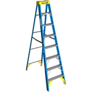 "Werner 8ft. x 25"" Fiberglass Step Ladder for $80 for Ace Rewards members"