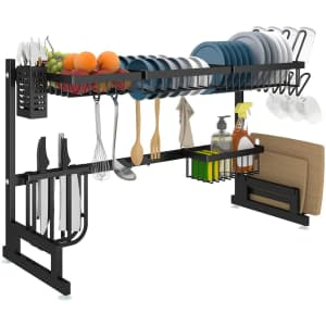 Apsan Over-the-Sink Dish Drying Rack for $40