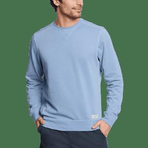 Eddie Bauer Men's Camp Fleece Riverwash Sweatshirt for $20