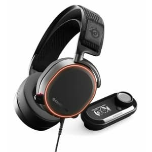 Certified Refurb SteelSeries Arctis Pro + GameDAC Wired Gaming Headset for $127